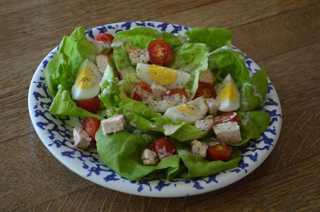 Butter Lettuce Salad 012